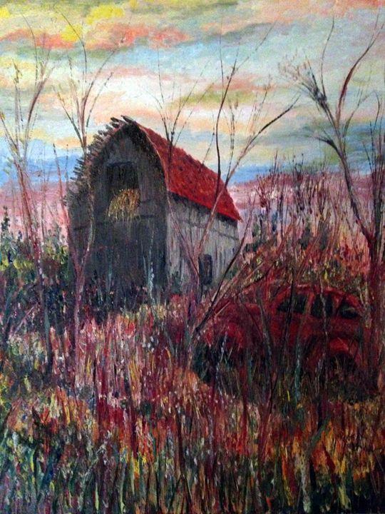 Where scarecrows use to dance. - Robert Rombeiro
