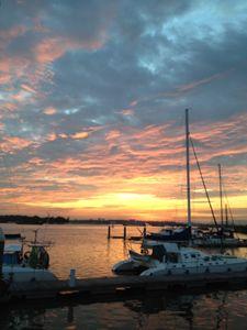 Evening skies - Mark S Fine Art