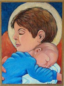 """Madonna and Child"""