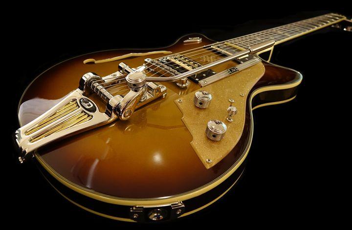 Guitar - FriendlyChimpArt
