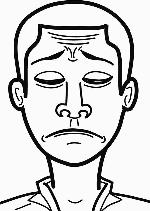 sad face - Gyamfi