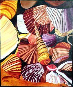 Oil Painting - Wonders of Ocean