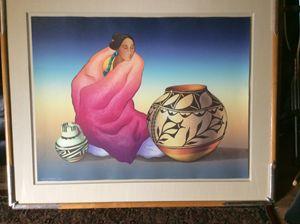 Thistle Jar by R.C Gorman