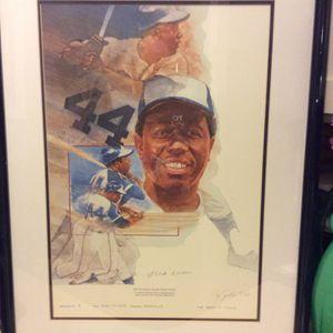 Hank Aaron 755 Home runs #6