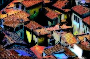 roofs od Florence