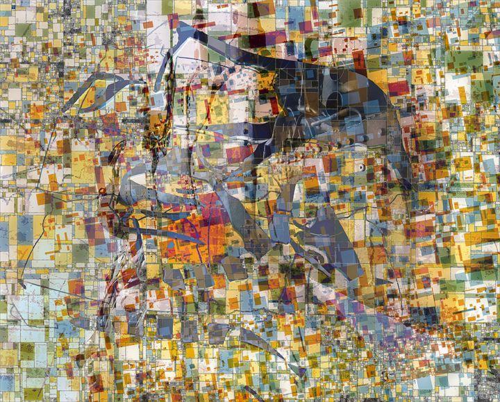 al systems go - Brut Carniollus Digital Art