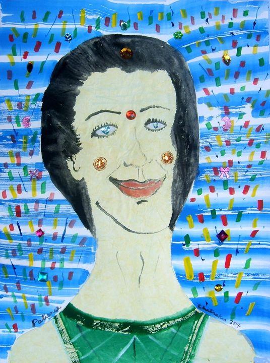 Patience - Harry Chitrakar Kottler's Paintings