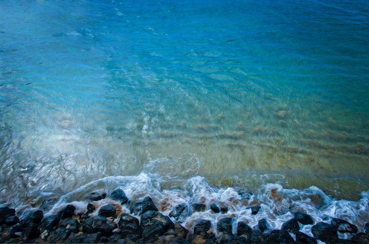 Splashing Rocks - Capturing Life