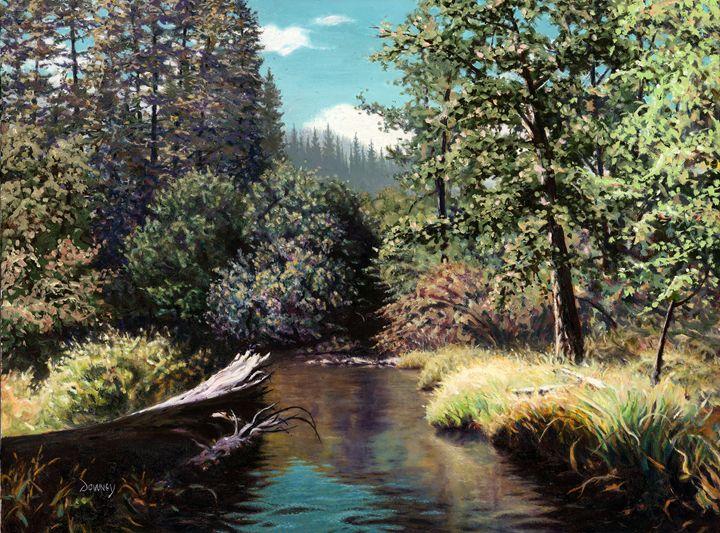 Taylor Creek - Carl Downey Art Gallery