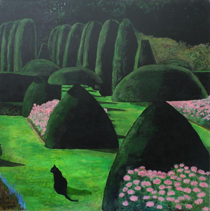 Hinton Ampner Topiary - Robert Harris