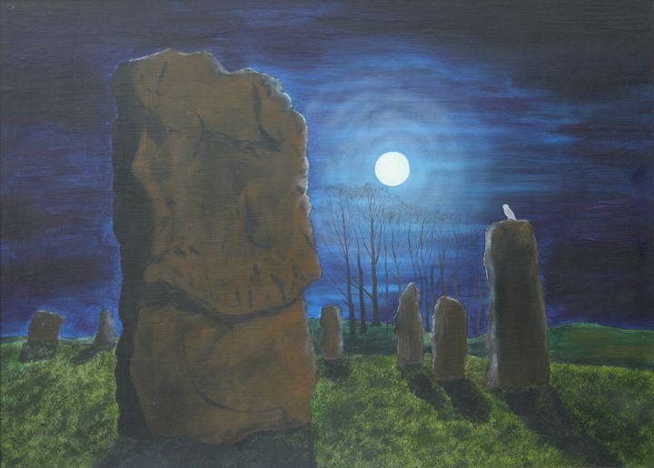Avebury by Moonlight - Robert Harris