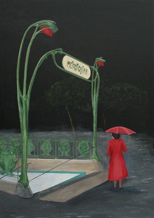 Ile de la Cite Metro Station - Robert Harris