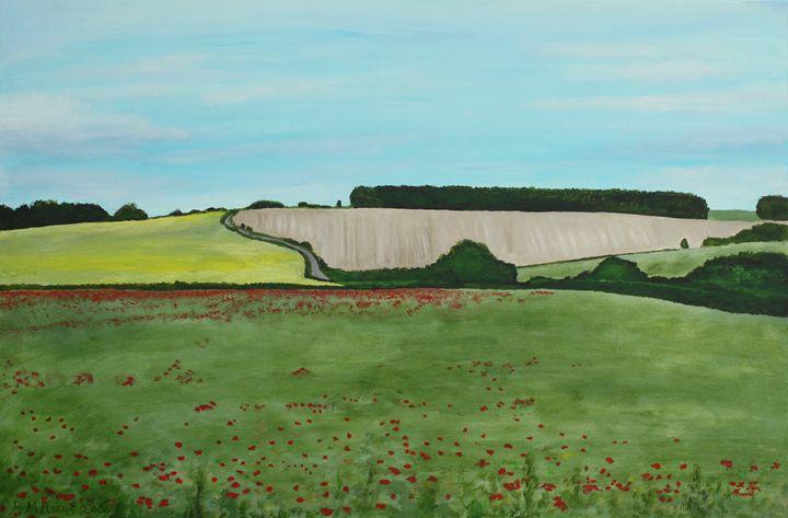 Fields near Court Hill, Wantage - Robert Harris