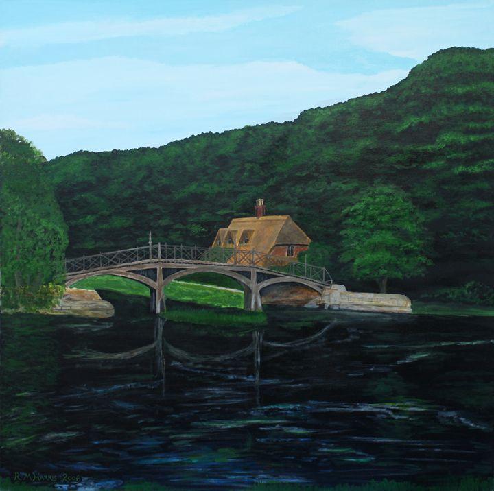 The Lock Cottages at Nuneham 2 - Robert Harris
