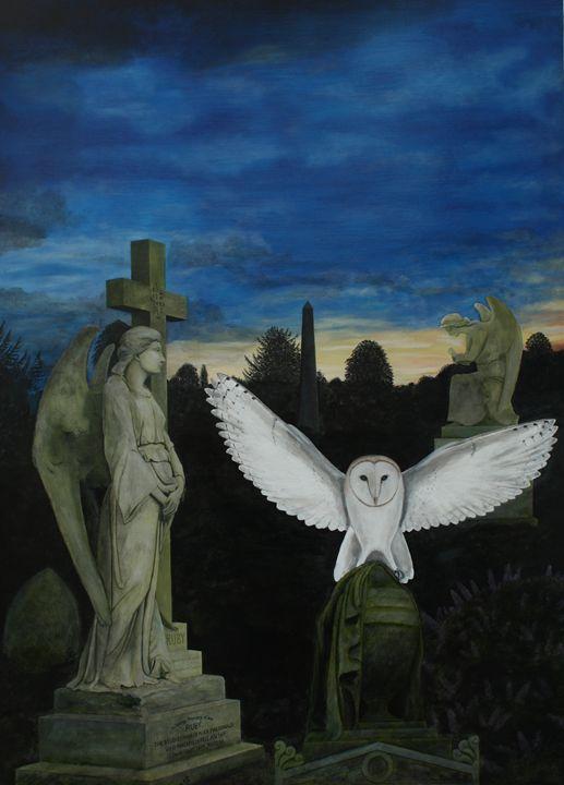 Angels and Barn Owl - Robert Harris