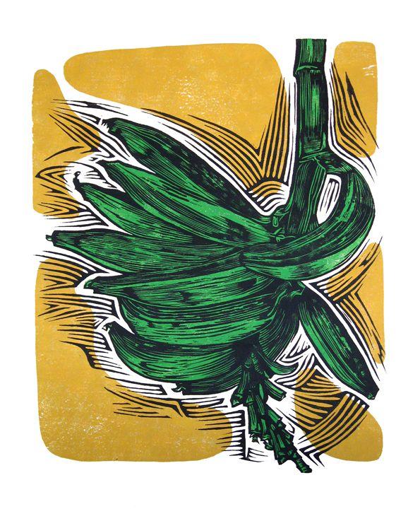 Plátanos - Arte Sobre Papel