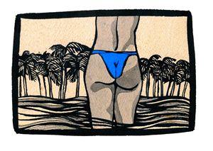 The Blue Bikini
