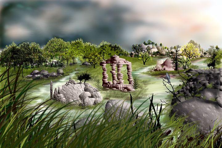 Marble mountains - ChandraSekharKumar Vuttaradi
