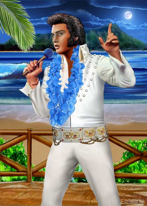 ELVIS THE LEGEND - HOLBROOK ART PRODUCTIONS