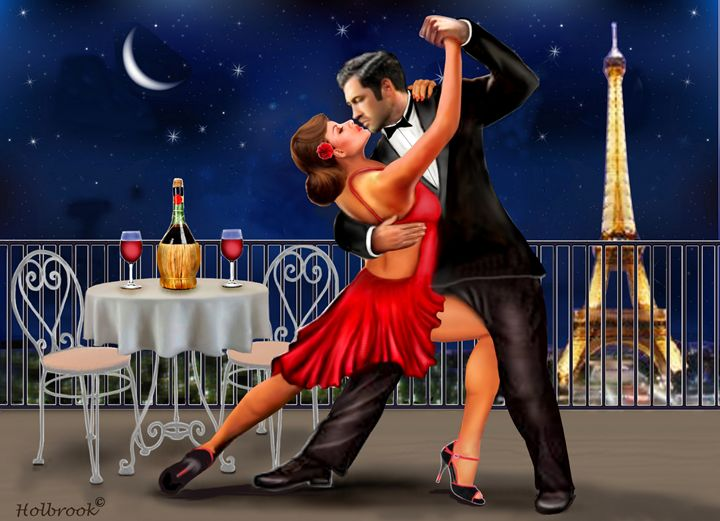 DANCING UNDER THE STARS - HOLBROOK ART PRODUCTIONS