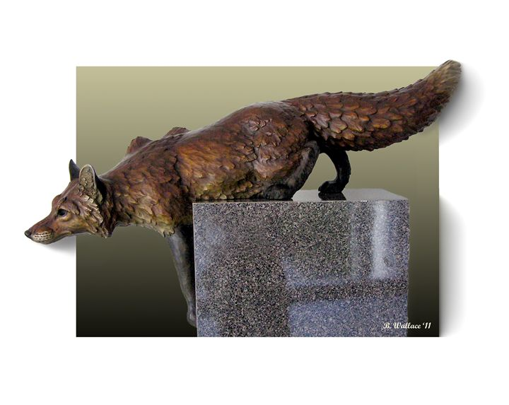 Fox On A Pedestal - Brian Wallace
