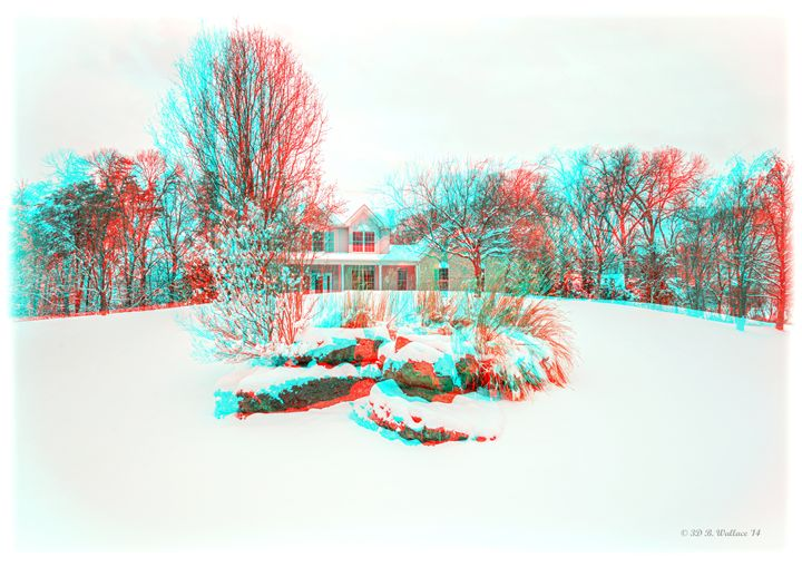 House On The Hill - Need 3D Glasses - Brian Wallace