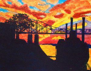 Vicksburg Sunset