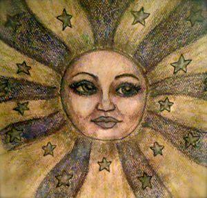 Moon - Jen Hallbrown Art