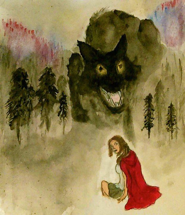 The Wicked Woods - Jen Hallbrown Art