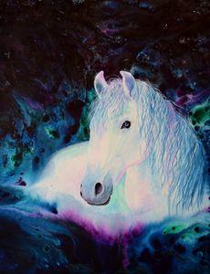 """""""Mystique"""" horse spirit"""