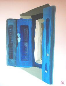 Blue shutter II