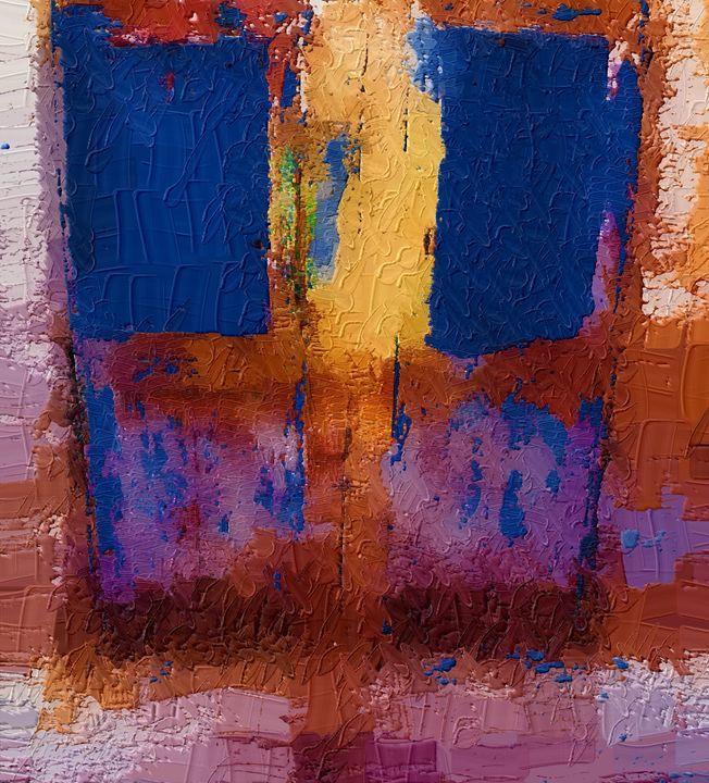 Abstract door - Nine