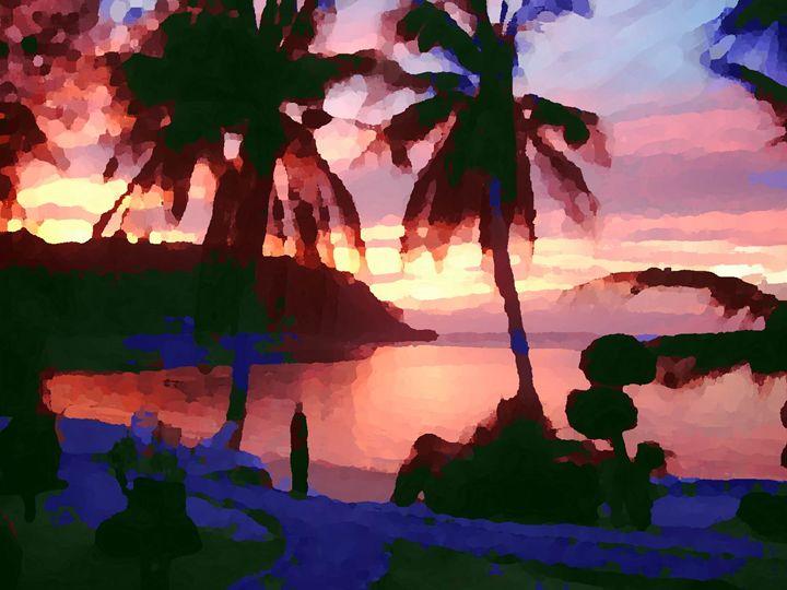 Thai sunset III - Nine