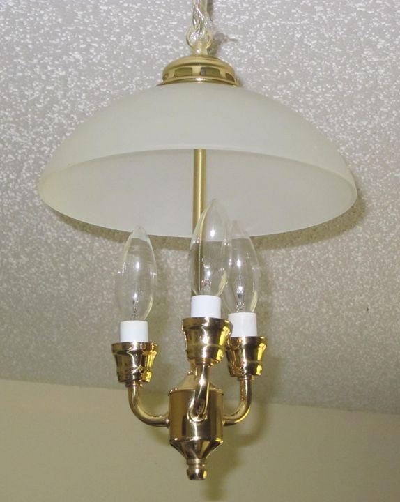 """Sunshine"" Mini-chandelier - New Life Style Creations"