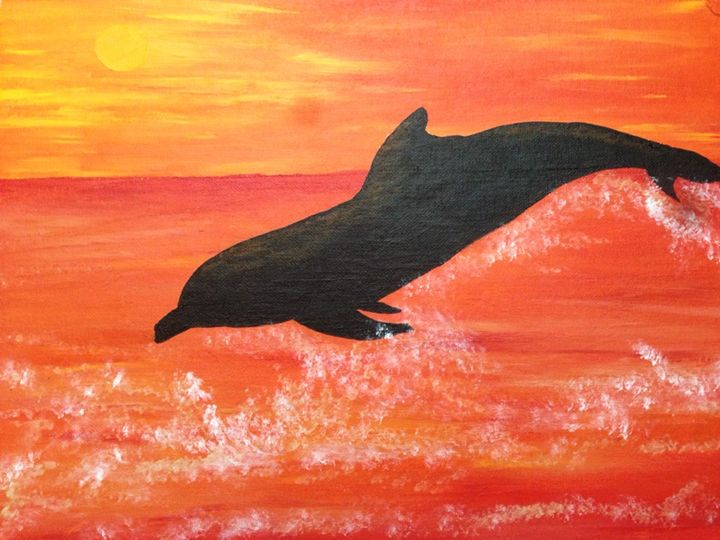 Dolphin Dance - Kristen Jaques Jones