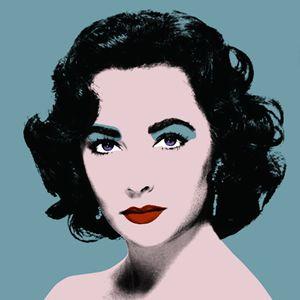 Turcoise Liz - Warhol Inspired