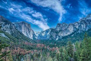Magnificent Tunnel View of Yosemite