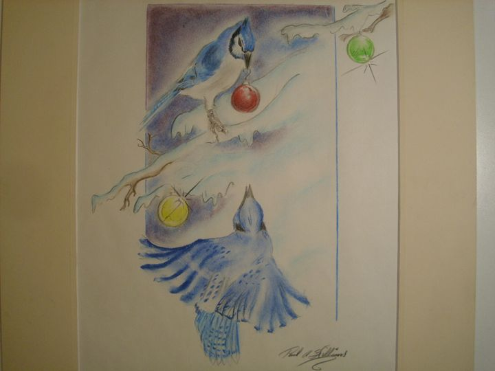 a bluejay's christmas - paul a. williams