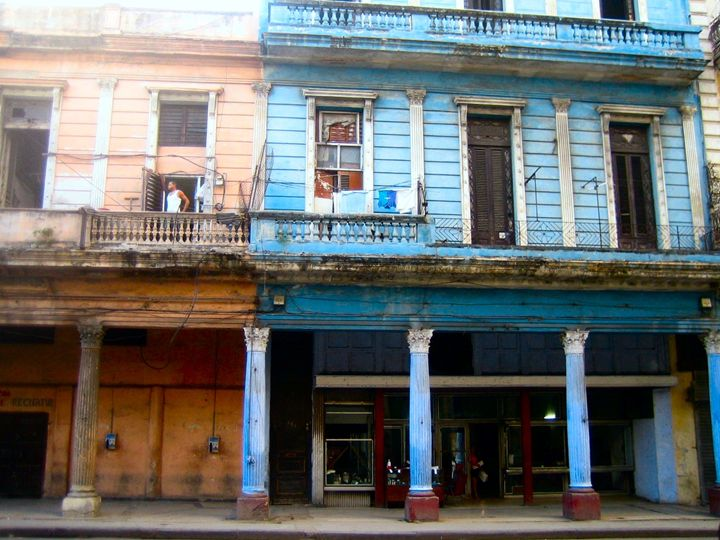 Old Havana house - John Brooks Art & Photography
