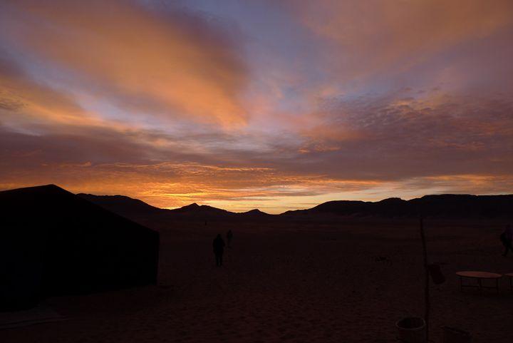 Sahara sunrise 4 - John Brooks Art & Photography