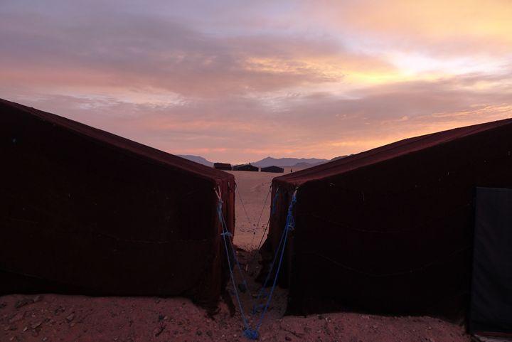 Sahara sunrise 2 - John Brooks Art & Photography