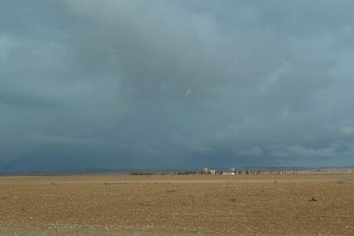 Storm brewing over the Sahara 4 - John Brooks Art & Photography