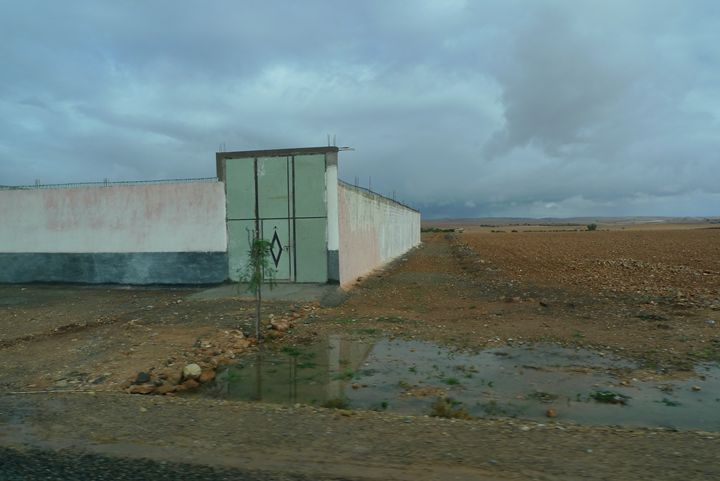 Wall to the horizon - John Brooks Art & Photography