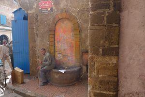 Resting in Essaouira