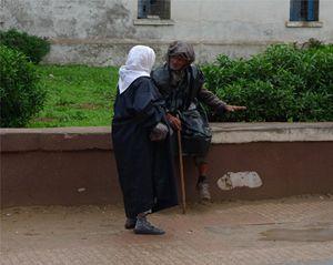 Conversation in Essaouira