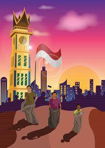 Big Clock of Indonesia