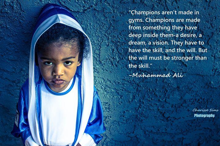 Muhammad Ali - Charisse Sims Photography