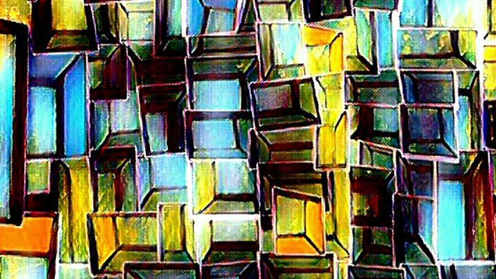 Abstract Boxes - Tina Casagrand