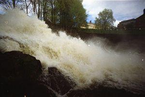 An Analog Waterfall