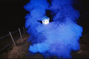 A Smoke Grenade in the Dark